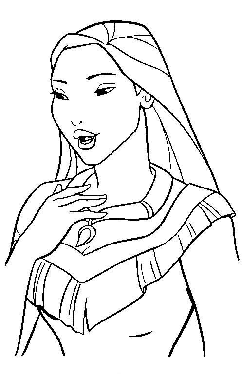 pocahontas meeko coloring pages - photo#27